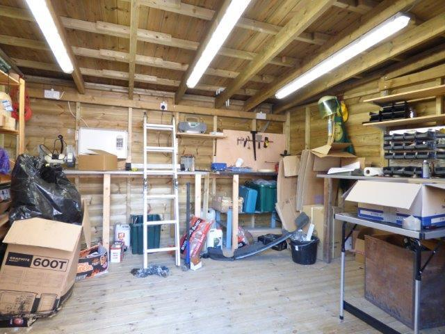 Timber outbuilding/store
