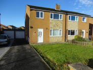 semi detached property for sale in 5 Oak Tree Close, Bedale