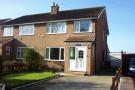 Moorlands semi detached house for sale