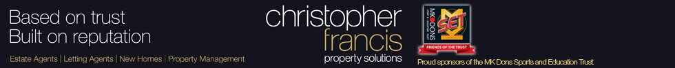 Get brand editions for Christopher Francis Property Solutions, Milton Keynes