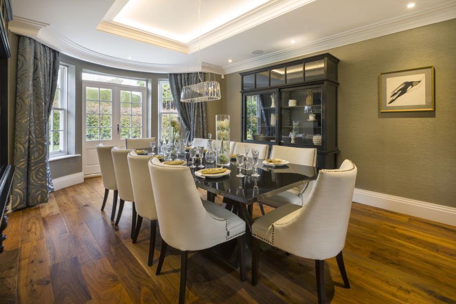 Brookworth Homes,Dining room