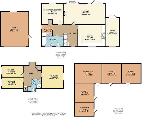 Floorplan House and