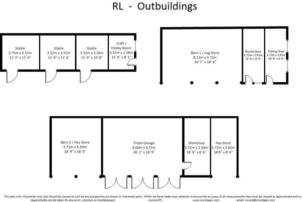 Floor Plan Outbuildi