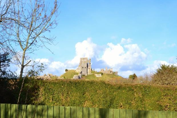 view of castle from