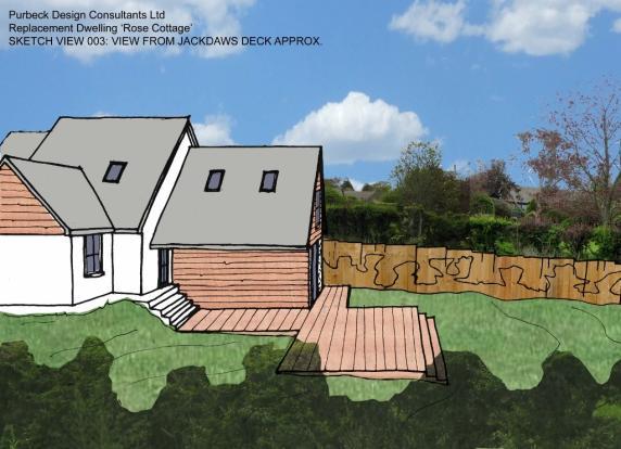 rear of property (ar