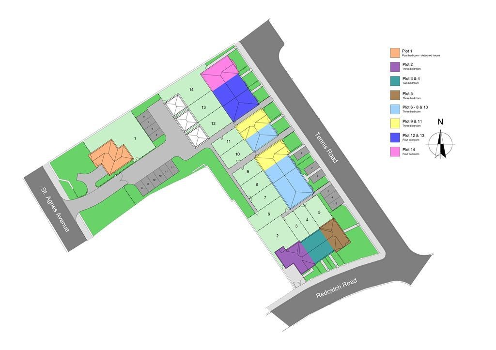 The Villas site plan