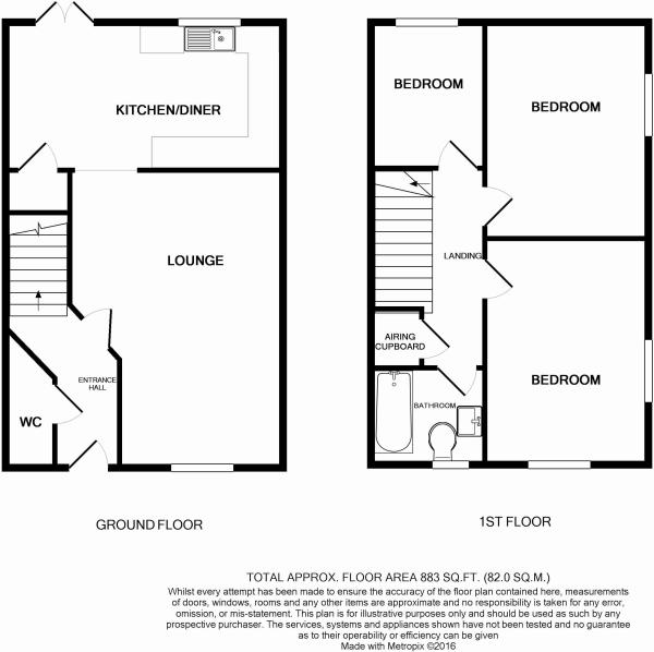 Floorplan 3 bed