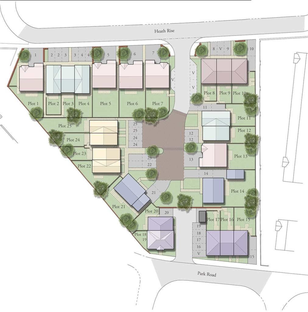 Charlotte Mews Site Layout