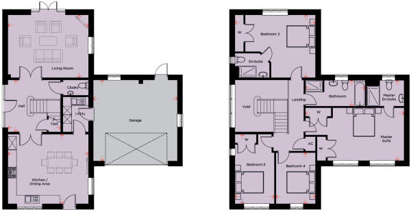 Manor Barn Floor Plans