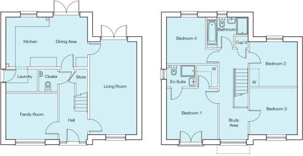 The Garnet Floorplan