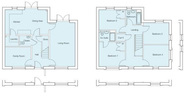 The Aspen Floorplans