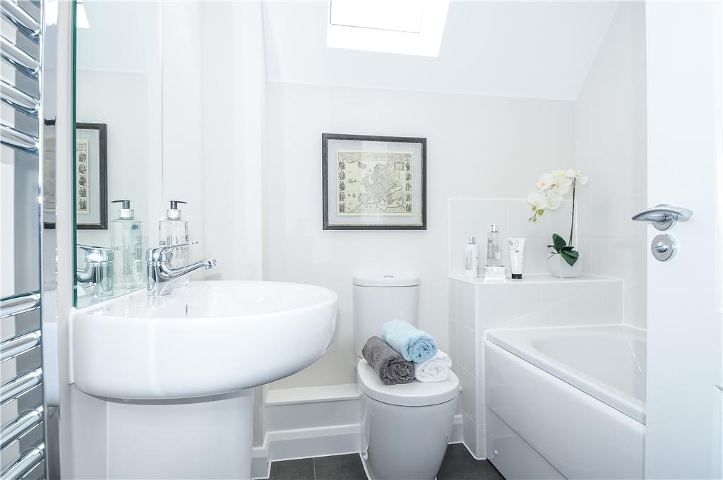 Similar previous showhome - Bathroom