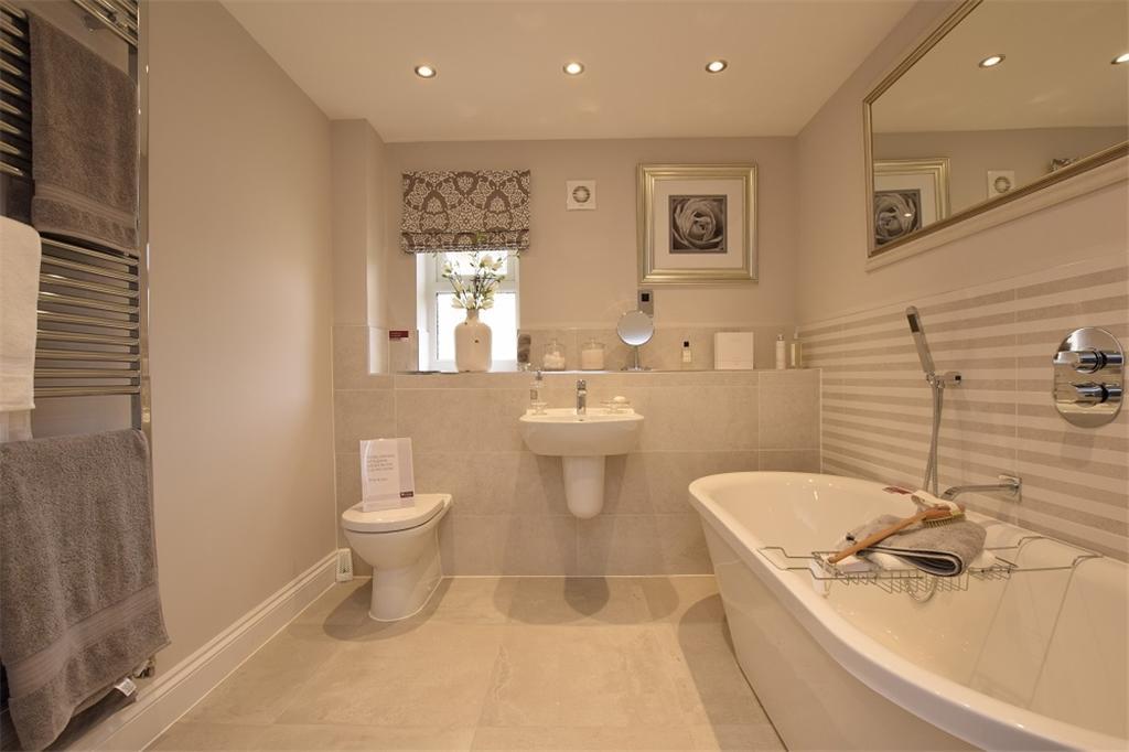 Family Bathroom Show Home