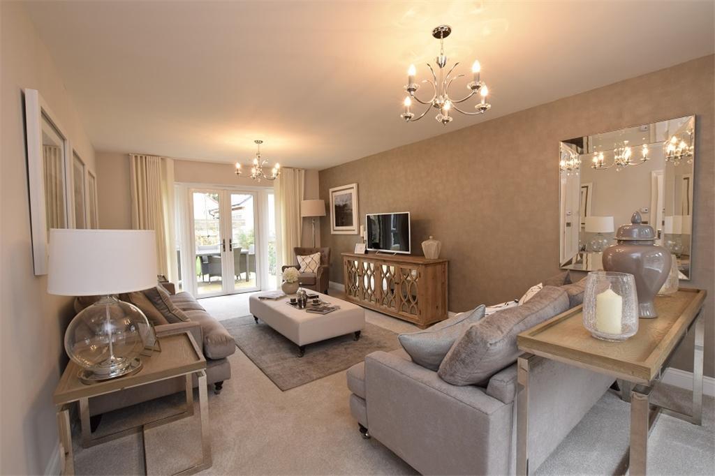 Living Room Show Home