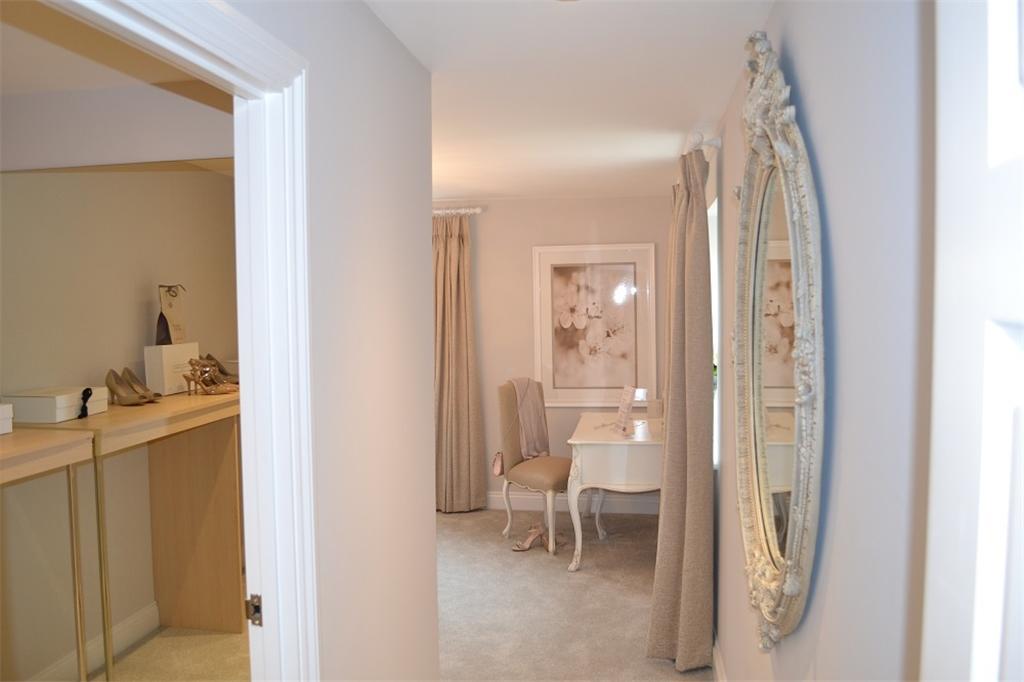 Master Bedroom Walk in Wardrobe Show Home