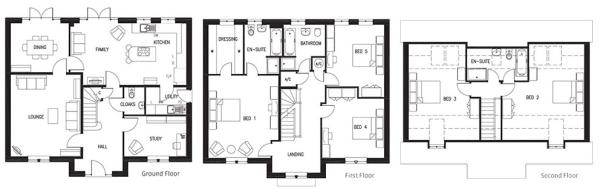 The Blenheim Floorplans