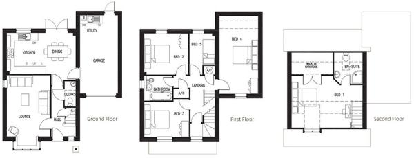 The Hatherley Floorplans