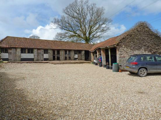 Driveway and Outbuildings