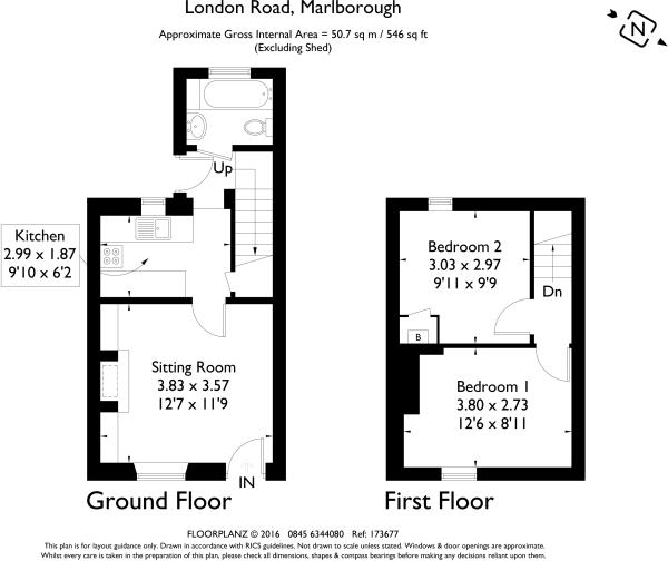 2 bedroom house to rent in london road marlborough sn8 sn8 for Marlborough house floor plan