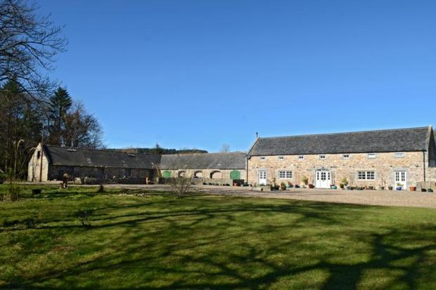 Front Of Steading