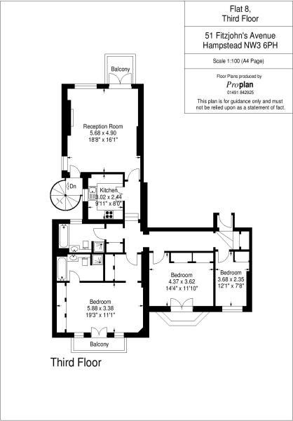 Flat 8 HHFJ floor...