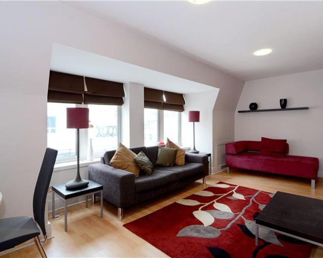 Living Room Red Rugs Images
