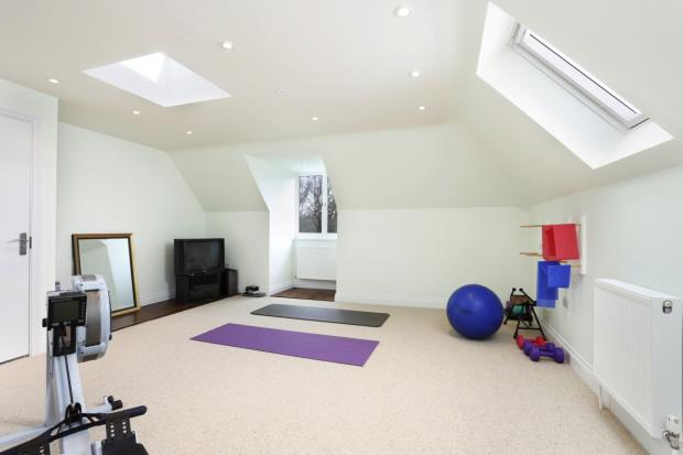 Bedroom 7 Gym Area