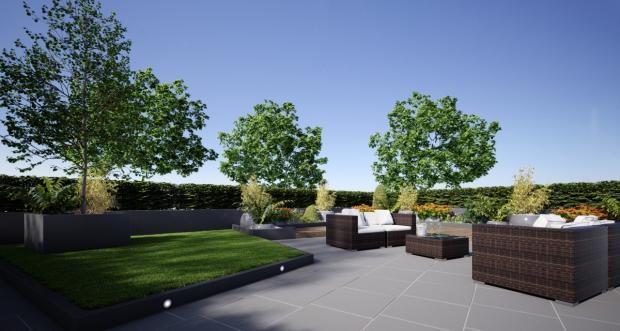 Garden CGI