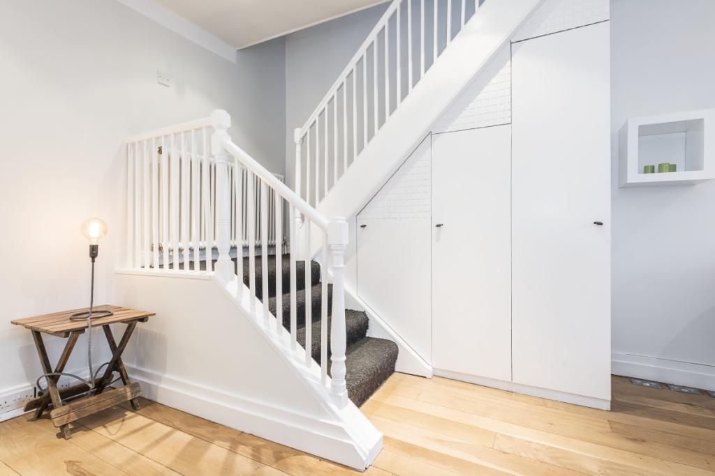 Reception/Stair Case