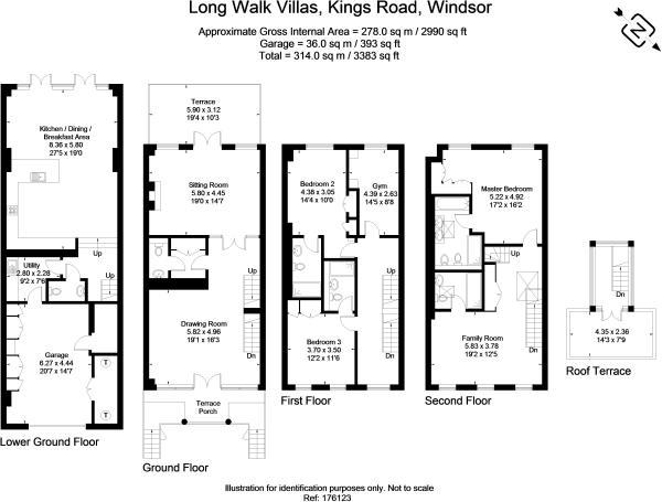 5 Long Walk Villa...