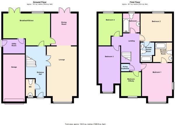 Floor Plans Barratt Homes House Design Ideas