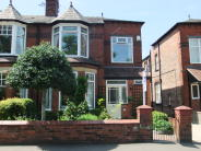 semi detached property in Queens Road, Urmston, M41