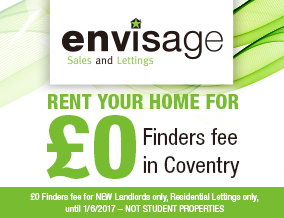 Get brand editions for Envisage Sales & Lettings, Coventry - Sales & Lettings