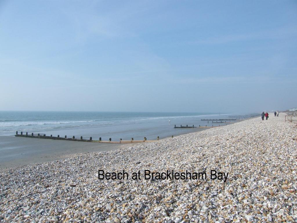 Beach nearby at Brac