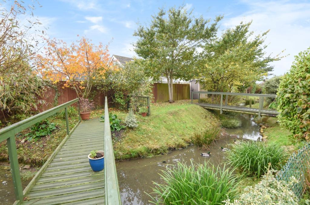 garden + stream