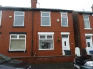 semi detached property in Milton Road, Prestwich...