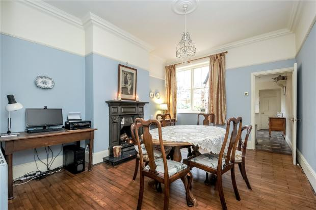 6 bedroom semi detached house for sale in the crescent for Dining room northampton