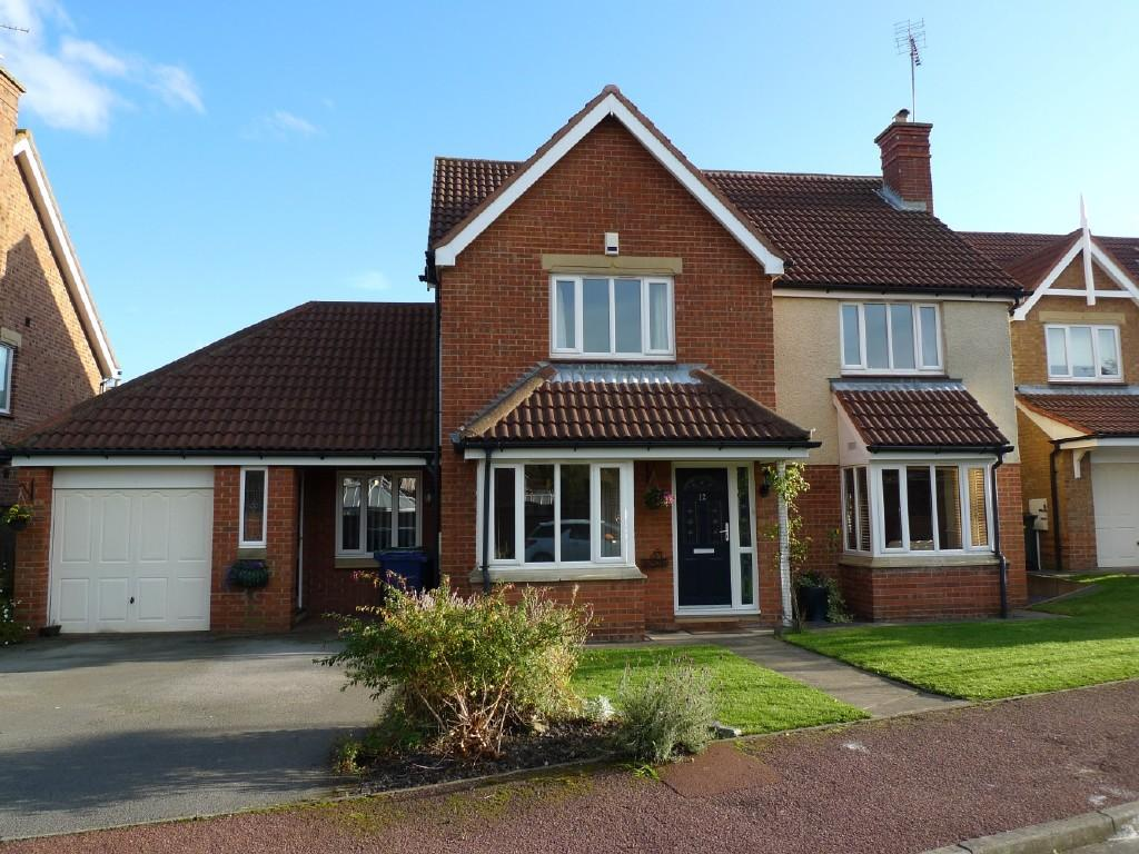 Bedroom detached house for sale in baronswood gosforth