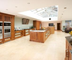 photo of white kitchen
