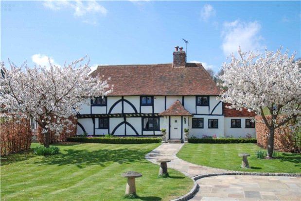 5 Bedroom House For Sale In Wingmore Elham Canterbury