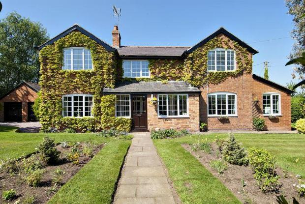 4 Bedroom Detached House For Sale In Hampton Green Malpas Cheshire Sy14
