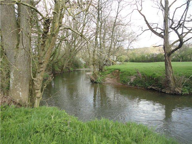 Farm For Sale In Fishing Rights For Sale Lapford