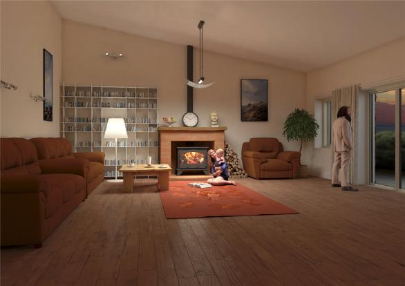 CGI Sitting Room
