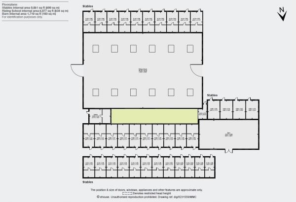 Floorplan - Stables