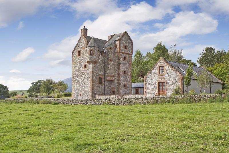 4 bedroom detached house for sale in new abbey dumfries for Tower house for sale
