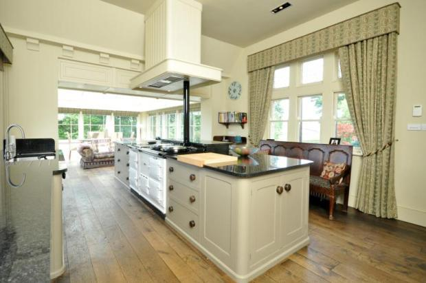 Kitchen/ Orangery
