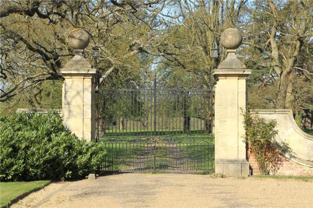 Park Entrance Gates