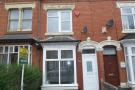 4 bed Terraced property to rent in Knowle Road, Hall Green...
