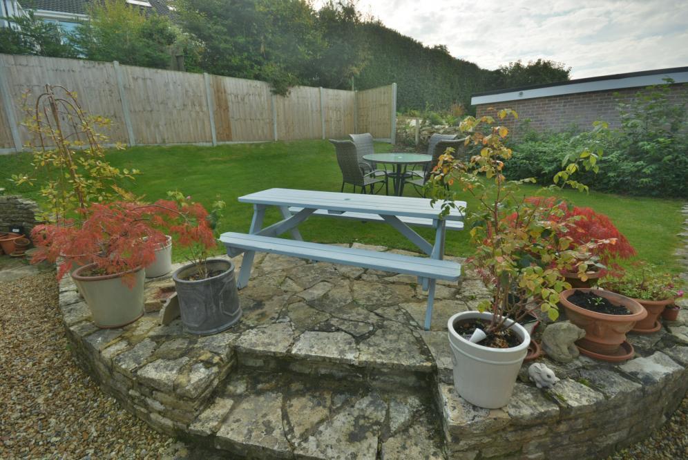 Patio and rear garden