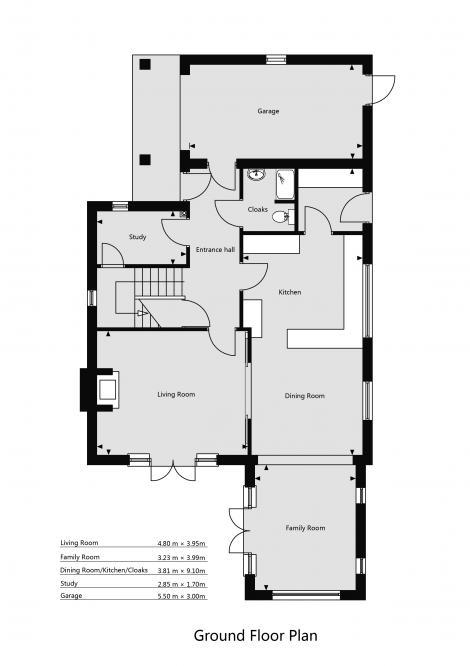 Ground Floor - Plot 1,2 & 4